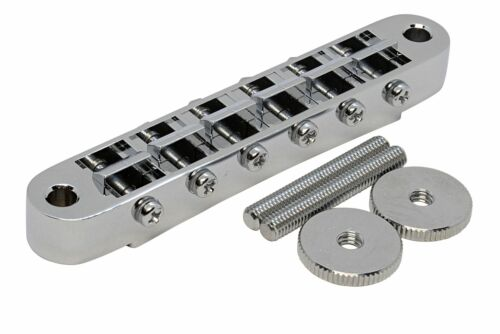 GOTOH GE-103B Guitar Bridge with M4 theaded posts Chrome