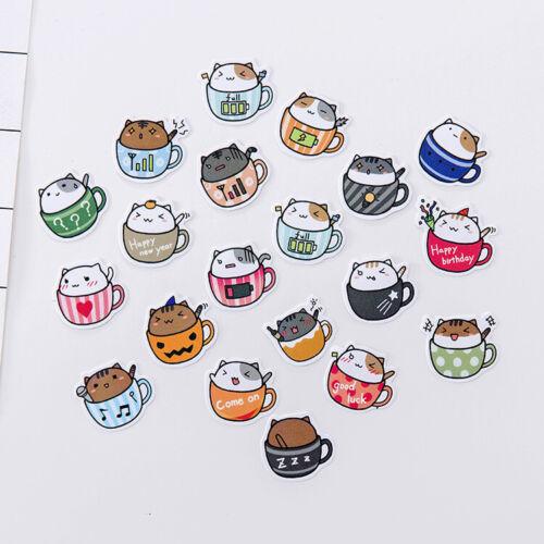 Cute Cartoon DIY Album Scrapbook Diary Planner Photo Letter Decorative Sticker