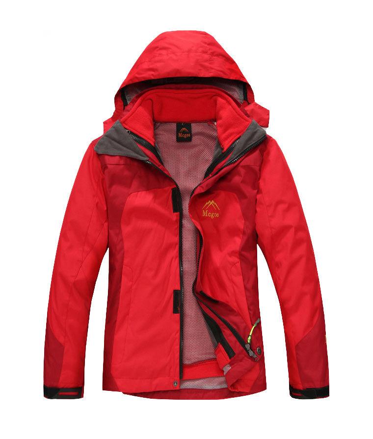 Kids Ski Jacket SnowboarD62 rot Winter Waterproof Breathable Jacket S M L XL XXL