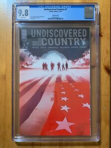 Undiscovered Country #1 CGC 9.8 Variant Cover Edition Jock Snyder Image 2019