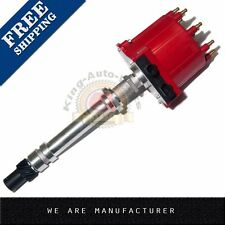 Ignition Distributor For Chevy GM 350 5.7L EFI TBI TPI Vortec 5.0L RED Cap+Roto