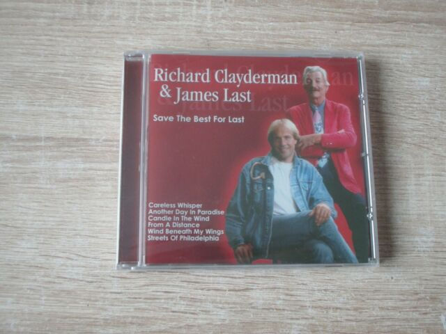 Richard Clayderman & James Last - Save The Best For Last  NEU OVP