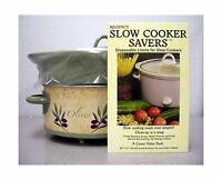 Regency Slow Cooker Savers- Triple Pack Disposable Liners For S... Free Shipping