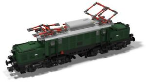 Lego Eisenbahn Bauanleitung Krokodil SBB Ce 6//8 II Train Instruction 10233 10219