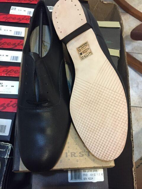 br02 capezio mens ballroom dance shoes black leather wide fit