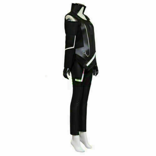 Details about  /Tron Legacy Quorra Adult Women/'s Jumpsuit Cosplay Costume
