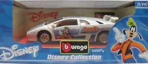 BURAGO-2214-DISNEY-COLLECTION-GOOFY-PIPPO-LAMBORGHINI-DIABLO-sc-1-24-ITALY