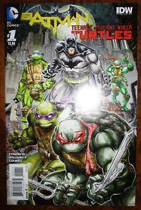 Batman-Teenage-Mutant-Ninja-Turtles-1-IDW-DC-1st-Print-NM