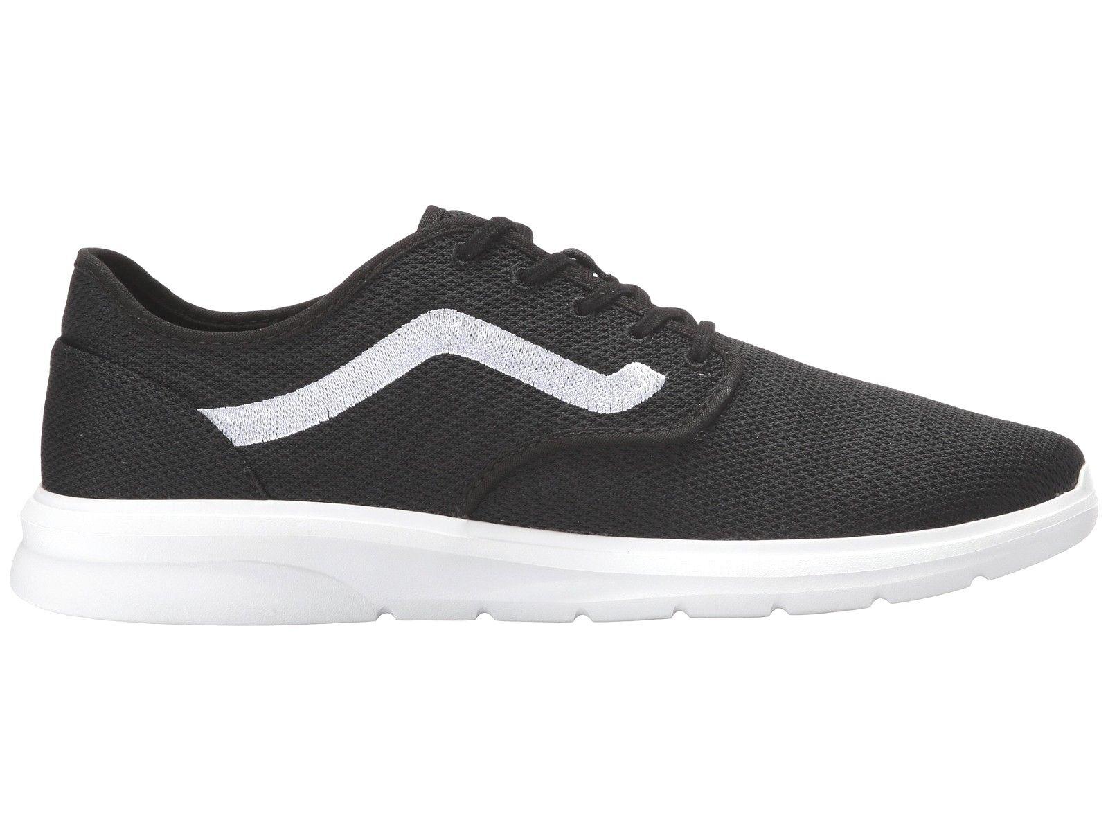 VANS ISO 2 (Mesh) Black/White/White ULTRACUSH Trainer MEN'S Size 8.5