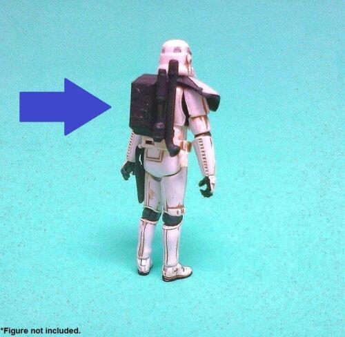 Custom Star Wars ARC TROOPER BACKPACK for 3.75 inch battlefront storm clone