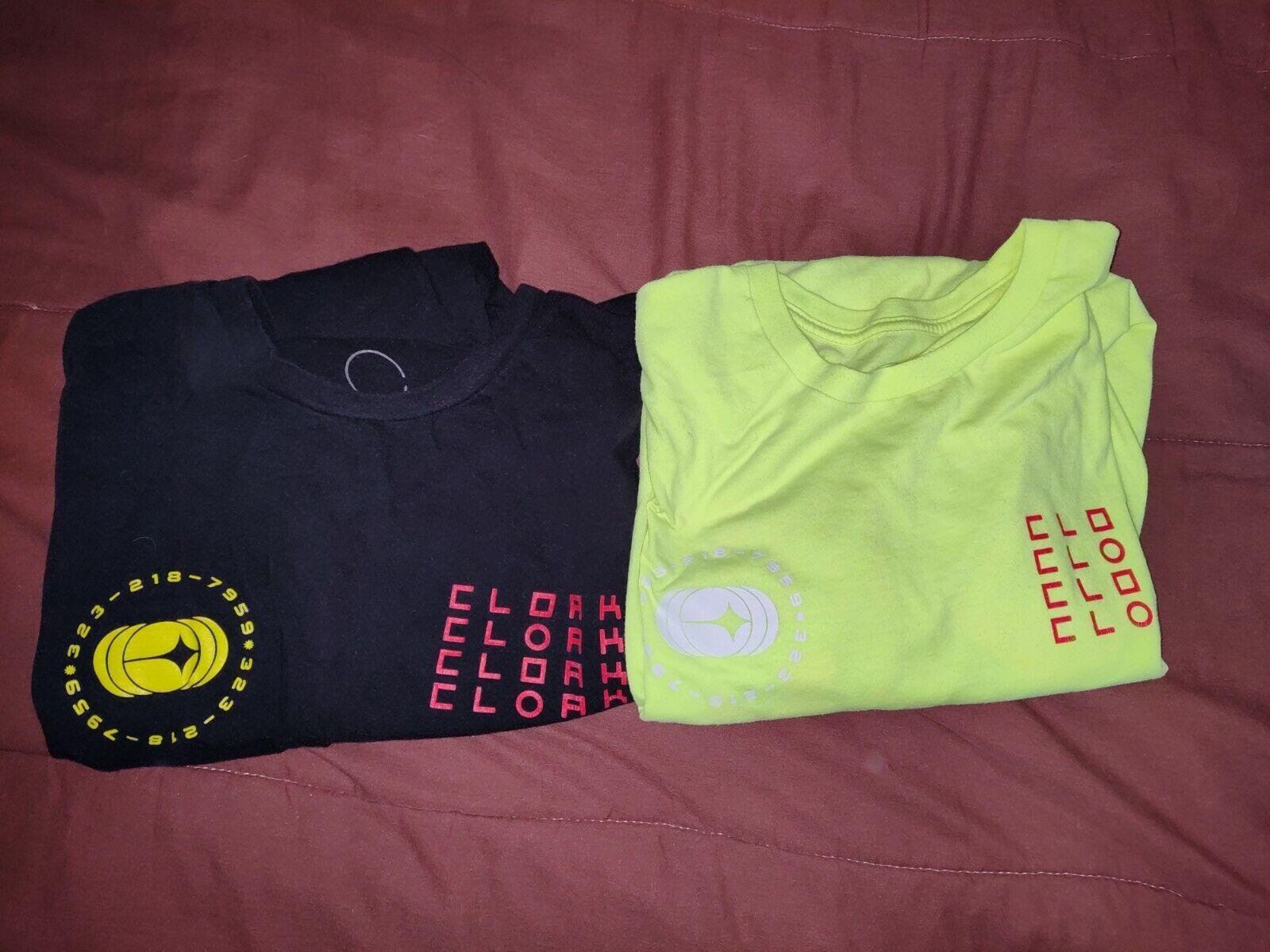 Cloak Brand Equinox both black and neon yellow sh… - image 1
