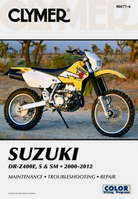 suzuki drz400 shop manual service repair book drz 400 clymer haynes rh ebay com Suzuki DRZ400S Specs 2017 Suzuki DRZ400S