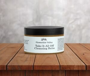 Image is loading Cleansing-Face-Balm-Makeup-Remover-Natural-Shea-Butter-