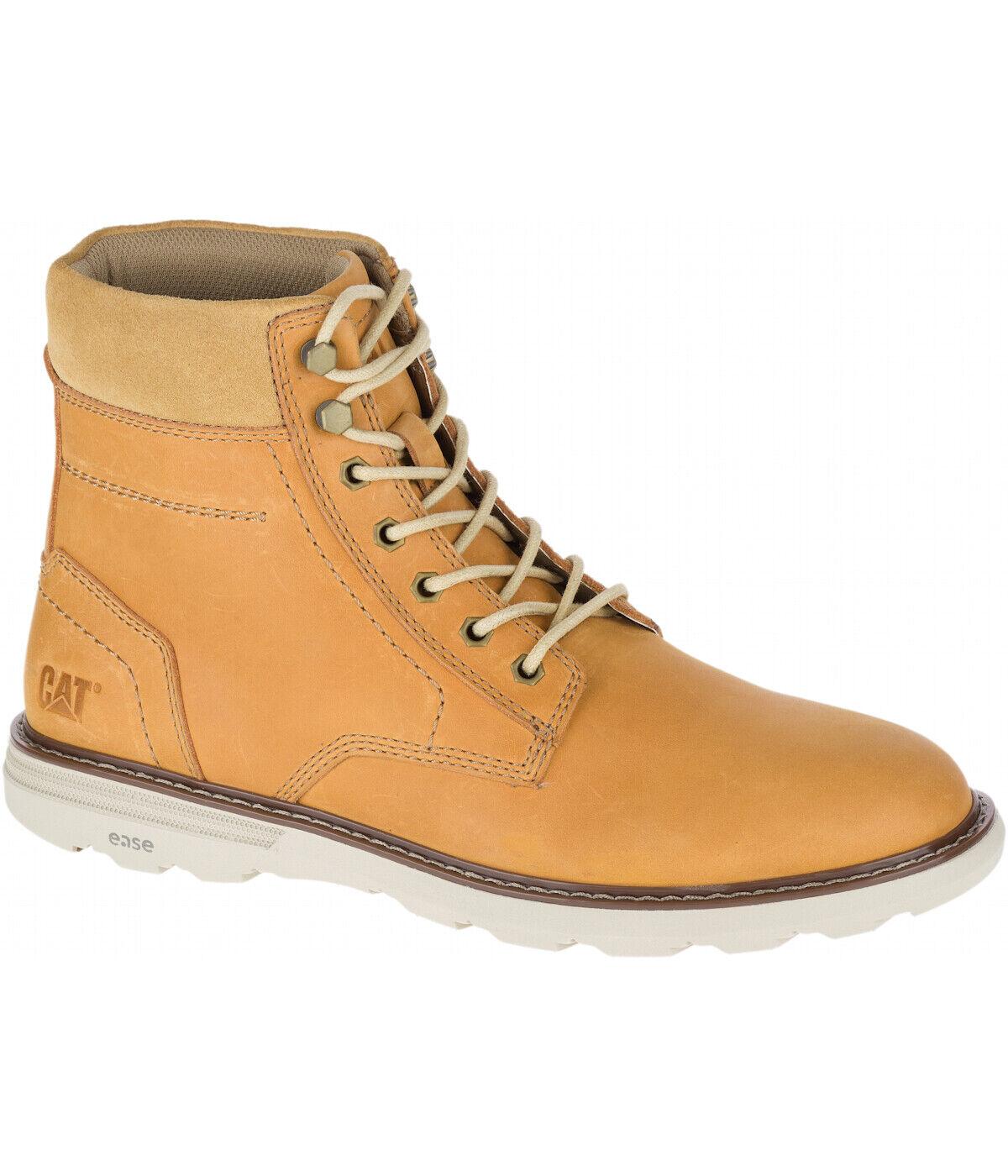 Cat señores cuero-calzado 41 42 43 44 45 marrón Vic botas botas de cuero Caterpillar