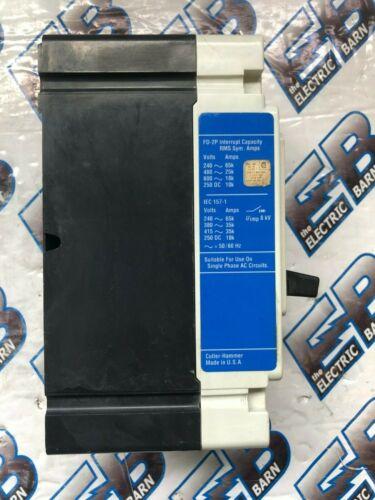 warranty 30 Amp 480 volt Circuit Breaker 2 pole Cutler Hammer FD2030