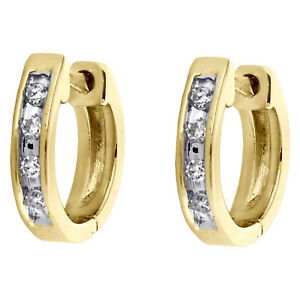 10K-Yellow-Gold-Round-Channel-Set-Diamond-Mini-Hinged-Hoop-Earrings-0-05-CT