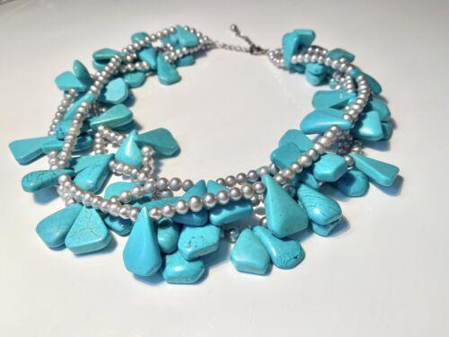 Diana Venezia Turquoise Necklace - image 1