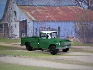 1965 1966 International Scout 1200 Pickup Truck Collectible 1 64 Model Ebay