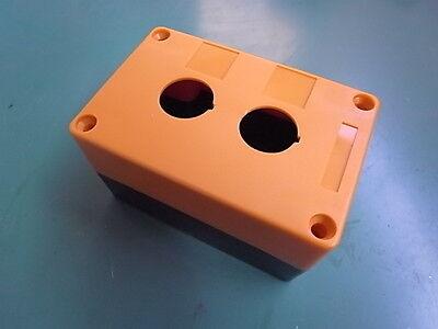 1 Stück Schalter Box Aufbau Für 2 St Schalter In Orange Eth9-2-o Attraktive Mode