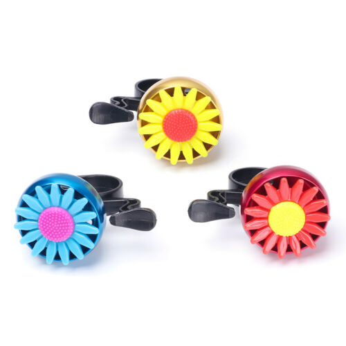 Pro Funny Bicycle Bell Horns Bike Daisy Flower Children Girls Cycling Ring Alarm