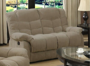 Remarkable Details About Double Reclining Loveseat Sofa Heavy Duty No Sag Springs Sturdy 600 Lb Capacity Gamerscity Chair Design For Home Gamerscityorg