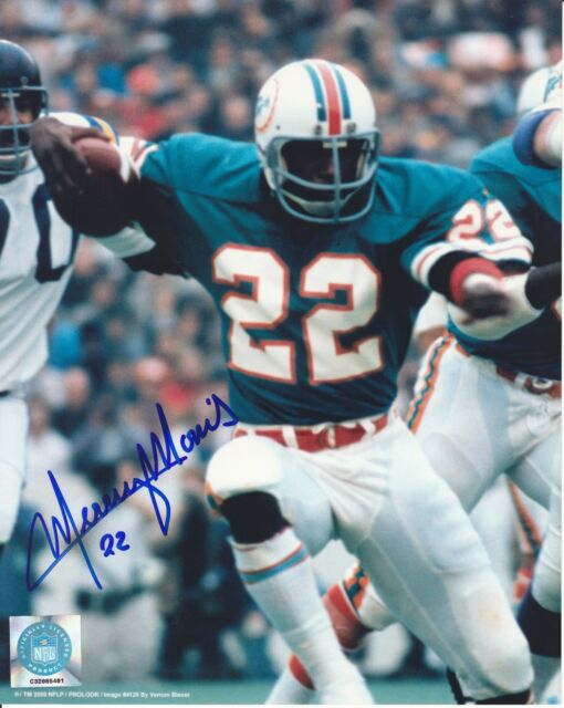 Mercury Morris Miami Dolphins signed 8x10 photo