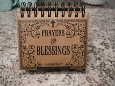 Spiral Bound Perpetual Desk Calendar Of Prayers And Blessings By Dayspring New