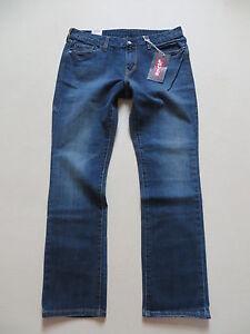 Levi-039-s-Straight-Fit-Jeans-Hose-W-31-L-30-Stretch-NEU-Faded-Denim-Bequem