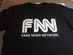 3ec7817a FNN - FAKE NEWS NETWORK - CNN SUCKS - T-SHIRT TRUMP PRESIDENT 2020 ...