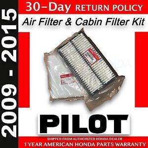 genuine oem honda pilot air cabin filter pack 2009. Black Bedroom Furniture Sets. Home Design Ideas