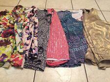 Women's Xl Lot Of 7 Work Shirts/casual