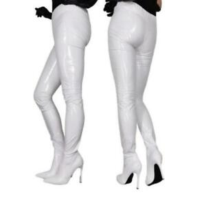 Details about  /Women Pointy Toe Stilettos High Heels Over The Knee Boots 46 47 48 Nightclub L
