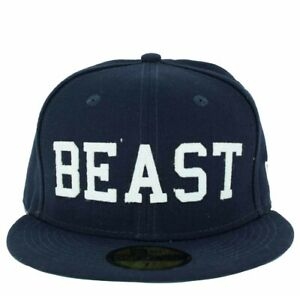 New Era, 59fifty Aka Beast Casquette, Marine, Baseball, Casquette, Time Is Money Un Style Actuel