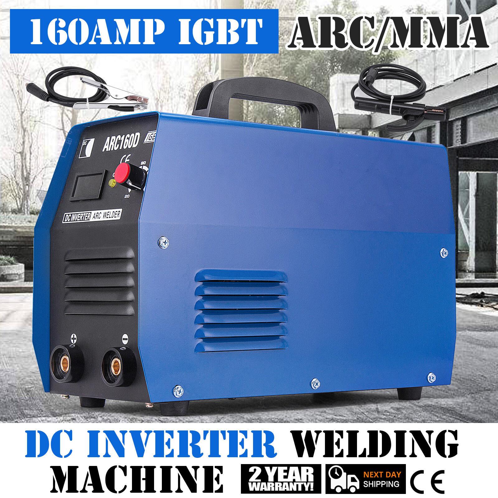 ARC-160D 160 Amp Stick ARC DC Inverter Welder 110V /& 230V Dual Voltage Welding