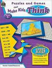 Puzzles and Games That Make Kids Think, Grade 5 by Garth Sundem (Paperback / softback)