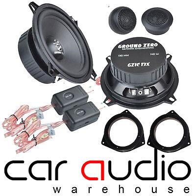 to fit subaru impreza ground zero 280w 13cm component front door car speaker kit ebay. Black Bedroom Furniture Sets. Home Design Ideas