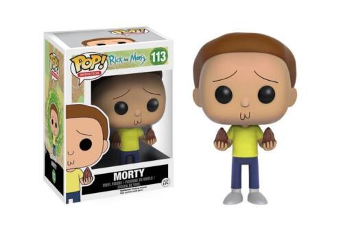 Animation Vinyl Morty 9 cm Funko figure 113 Rick et Morty Figurine POP