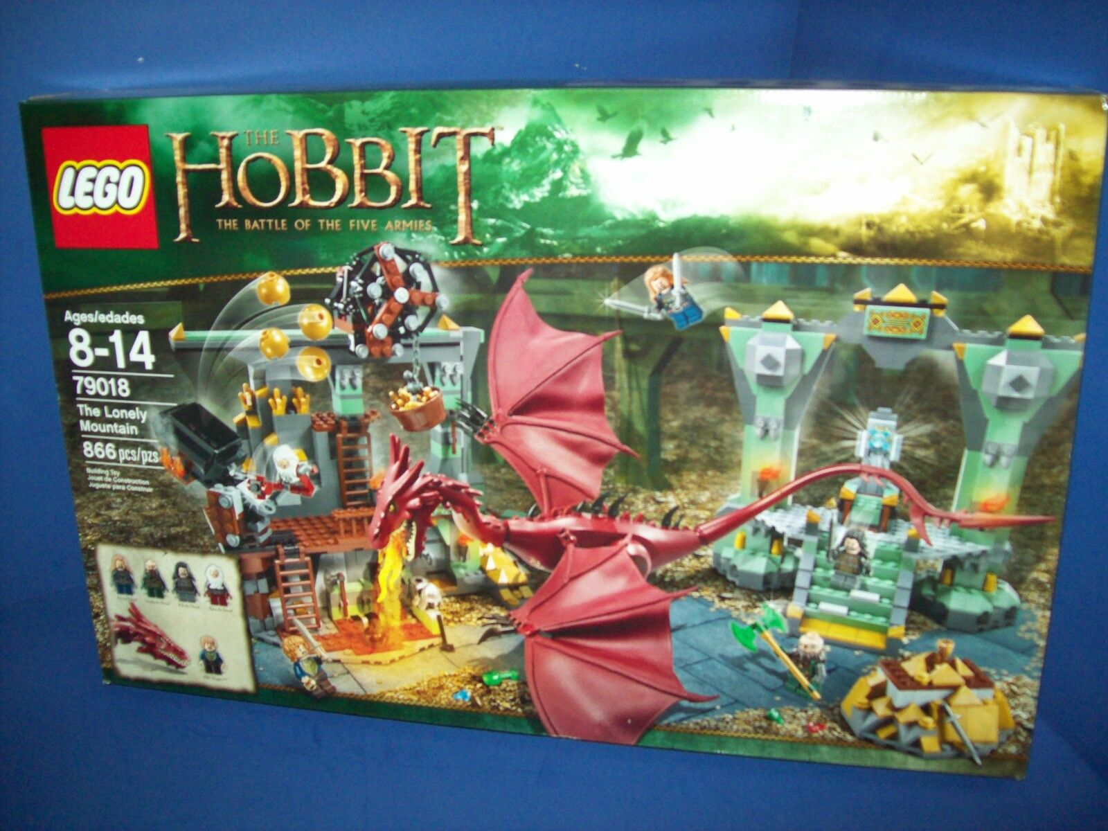 LEGO 79018 Hobbit The Lonely Mountain Factory Desolation of Smaug  - Sealed new