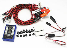 New RC 1:10 On Road Drift Car 12 LED Flashing Lights Lamps System Night