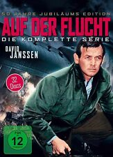BARRY MORSE DAVID JANSSEN - AUF DER FLUCHT COMPLETE BOX  32 DVD NEU