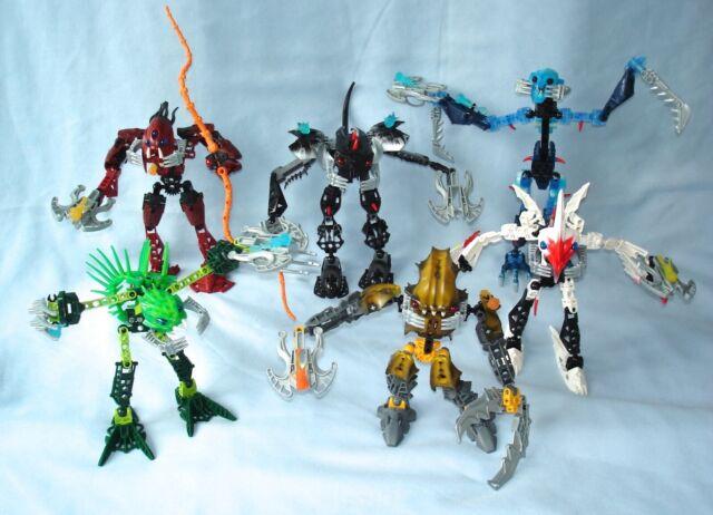 complete LEGO Bionicle Barraki 8916 Takadox