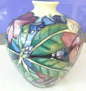 "MOORCROFT VASE ""SIMEON"" .dated 2000 -  Trial piece by Phillip Gibson"