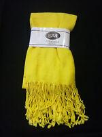 Sax Pashmina Style Shawl - Yellow