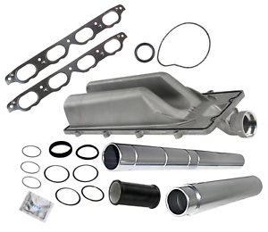 BMW 5 6 7 X5 V8 Coolant Water Transfer Pipes Seal Kit Upgrade Return Pipe