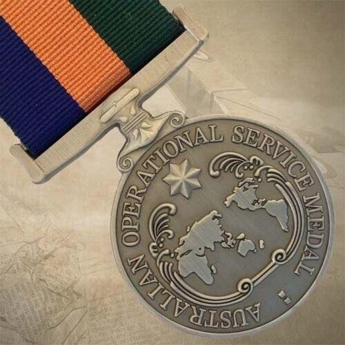 AUSTRALIAN OPERATIONAL SERVICE MEDAL - BORDER FORCE | AOSM | PROTECT | AWARD