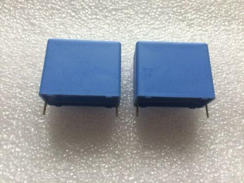2 Stück MKT Kondensator Philips 344 25-10 uf Frequenzweiche K100 z.B