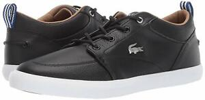 Men-039-s-Shoes-Lacoste-BAYLISS-119-1-U-Fashion-Sneakers-37CMA0073312-BLACK-WHITE
