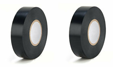Super Tape Utility Electrical Vinyl Tape Black 7 Mil 34x60 2x Rolls Ul Listed