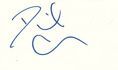 Autographs-original Movies David Cross Actor Comedian Arrested Development Tv Autographed Signed Index Card Commodities Are Available Without Restriction