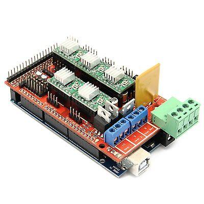 3D Drucker Kit Set RAMPS 1.4 + Mega 2560 R3 + A4988 Treiber 3D Printer Reprap